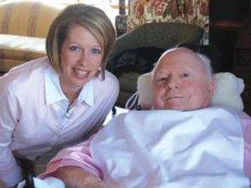 HomeWerks Home Care Caregiver with Senior Man