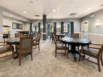 New England Club Dining Room