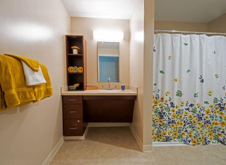 Serene Suites Premier Memory Care Bathroom