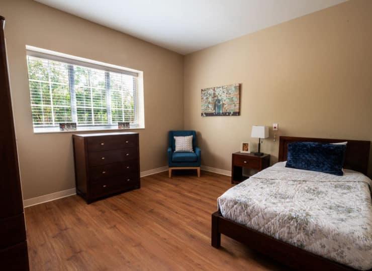 Serene Suites Premier Memory Care Bedroom