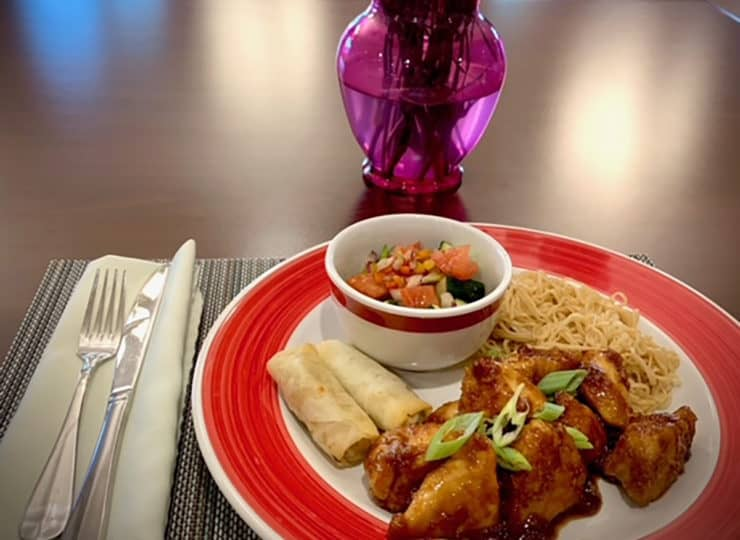 Serene Suites Premier Memory Care Dinner