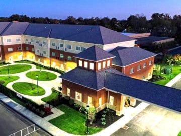 Serene Suites Premier Memory Care Exterior Aerial View