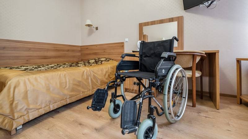 Finding accessible hotels for travelers with disabilities like this one