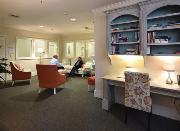 Johnston Health SECU Hospice House Family Room