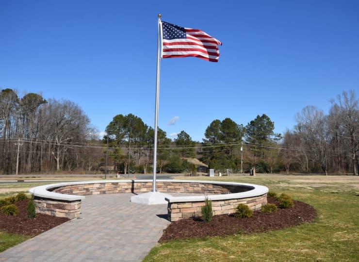 Johnston Health SECU Hospice House Veterans Memorial