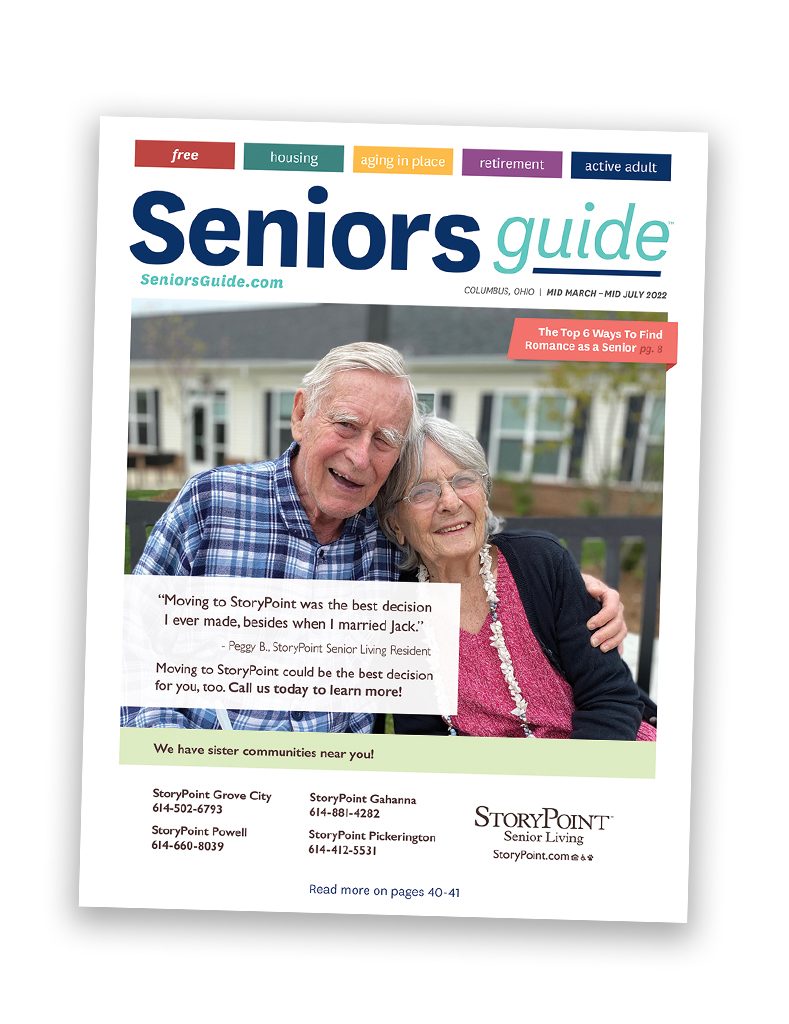 Seniors Guide Columbus magazine cover