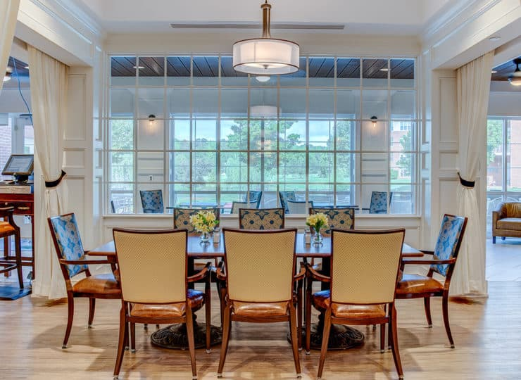 The Village at Brookwood Dining Room