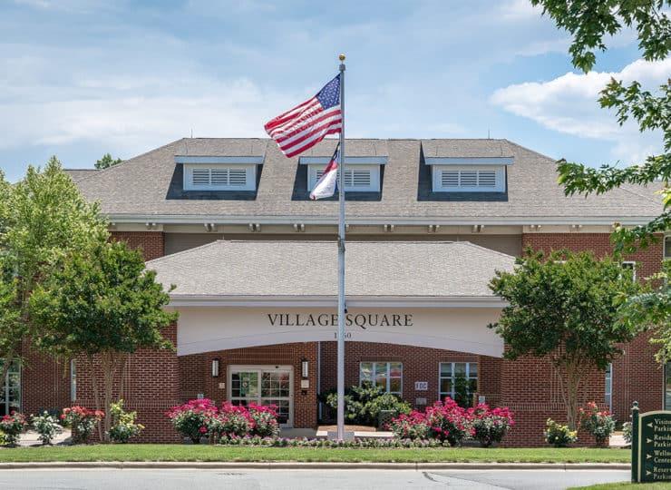 The Village at Brookwood Entrance