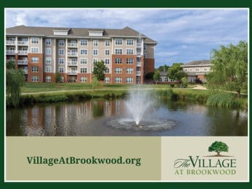 The Village at Brookwood Exterior with Fountain