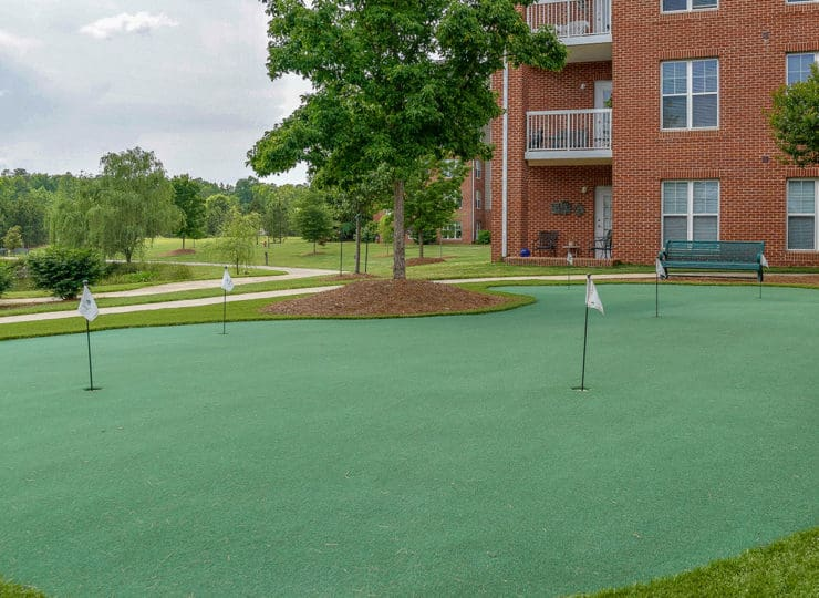 The Village at Brookwood Putting Green
