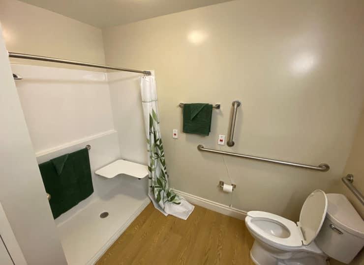 Carrington Cottage Memory Care Center Bathroom Safety Bars