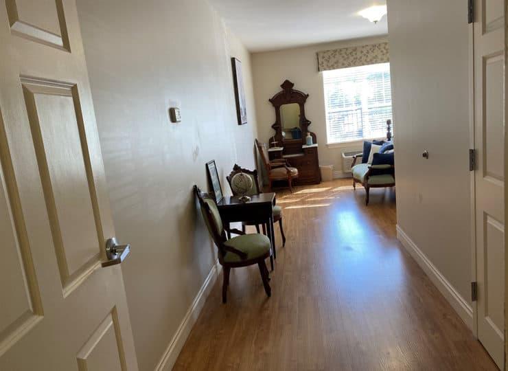 Carrington Cottage Memory Care Center Bedroom