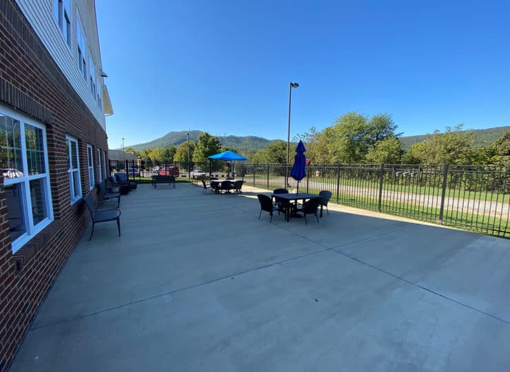 Carrington Cottage Memory Care Center Patio2