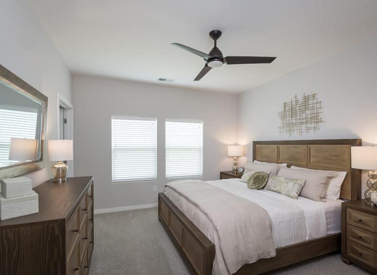 Dogwood Commons Master Bedroom