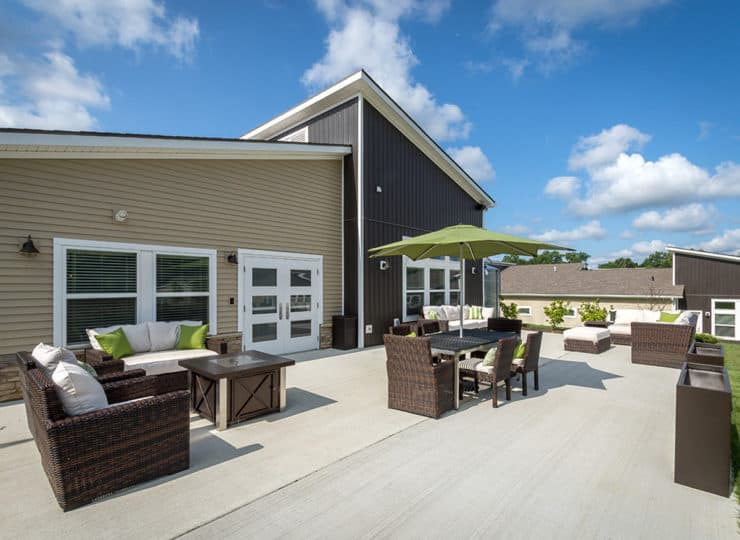 Dogwood Commons Outdoor Entertainment Area