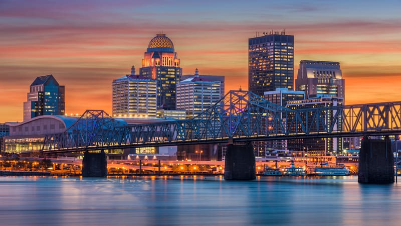 There are a lot of reasons to retire in Louisville I mean have you seen that skyline