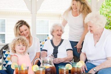 Commonwealth Senior Living Georgian Manor Family Iced Tea