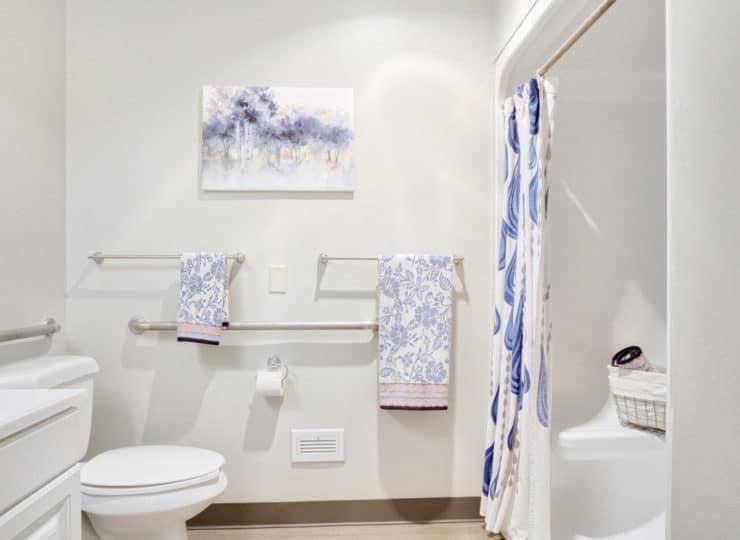 Rittenhouse Northside apartment bathroom