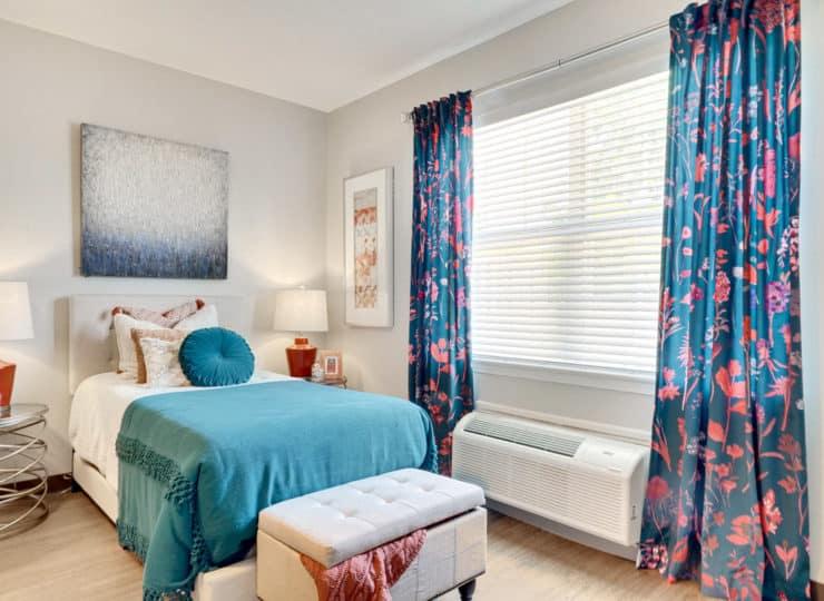 Rittenhouse Northside apartment bedroom
