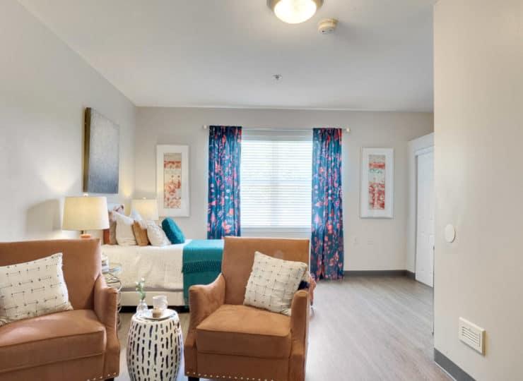 Rittenhouse studio apartment