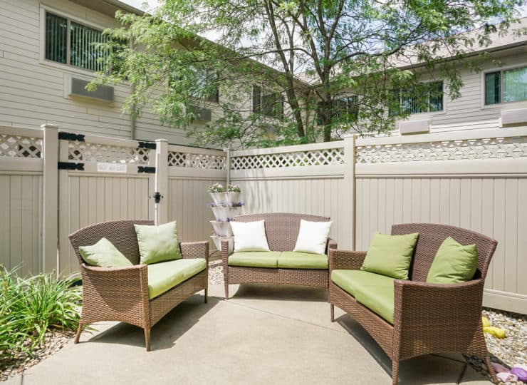Rittenhouse Village at Portage outdoor relaxation